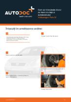 Cum se înlocuiește discul de frână din față al automobilului Volkswagen Polo IV