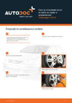 Cum se înlocuiește discul de frână din spate al automobilului Volkswagen Golf V