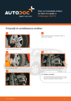 Cum se înlocuiește etrierul de frână din spate la Volkswagen Golf IV