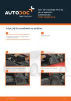 Cum se înlocuiește filtrul de aer al motorului automobilului FORD MONDEO III