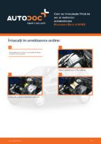 Cum se înlocuiește filtrul de aer al motorului automobilului Mercedes-Benz A W168