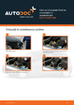 Cum se înlocuiește filtrul de combustibil al automobilului FIAT PUNTO 188