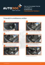 Cum se înlocuiește filtrul de combustibil al automobilului VOLKSWAGEN TOURAN 1