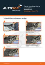 Cum se înlocuiește filtrul de combustibil al automobilului Volkswagen Sharan 7M