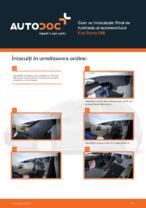 Cum se înlocuiește filtrul de habitaclu al automobilului Fiat Punto 188