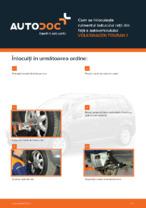 Cum se înlocuiește rulmentul butucului roții din față a autovehiculului VOLKSWAGEN TOURAN 1