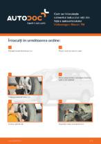 Cum se înlocuiește rulmentul butucului roții din față a autovehiculului Volkswagen Sharan 7M