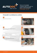 Cum se înlocuiește rulmentul butucului roții din spate a autovehiculului Volkswagen Golf III