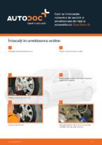 Cum se înlocuiește rulmentul de sarcină al amortizorului din față la autovehiculul Opel Astra G