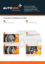 Cum se înlocuiește rulmentul de sarcină al amortizorului din față la autovehiculul Opel Corsa B