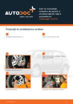 Cum se înlocuiește rulmentul de sarcină al amortizorului din față la autovehiculul Volkswagen Golf IV