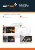Cum se înlocuiește rulmentul de sarcină al amortizorului din față la autovehiculul Volkswagen Polo IV
