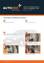 Cum se înlocuiește suportul sferic al suspensiei din față la Opel Corsa B