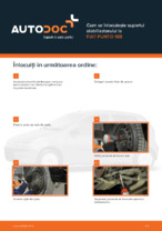 Cum se înlocuiește suportul stabilizatorului la FIAT PUNTO 188