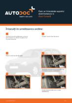 Cum se înlocuiește suportul stabilizatorului la Opel Corsa B