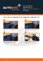 MERCEDES-BENZ - reparatie tutorial met illustraties