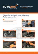 AUDI-Reparaturanweisung mit Illustrationen