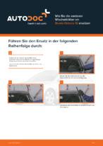 SKODA-Reparaturanweisung mit Illustrationen