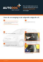 TOYOTA - reparatie handleidingen met illustraties