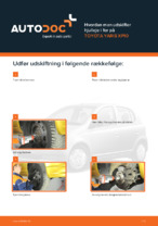 TOYOTA-reparationsmanualer med illustrationer