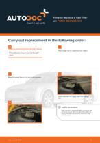 Workshop manual for FORD MONDEO online