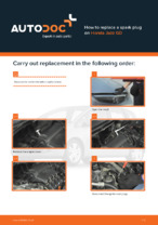 Workshop manual for HONDA JAZZ online