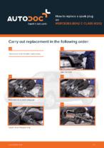 Workshop manual for MERCEDES-BENZ C-Class online