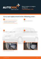 Workshop manual for VW LUPO online