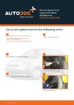 TOYOTA manuals free download - informative guide which will help you to fix your car