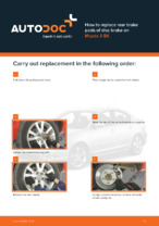 Workshop manual for MAZDA 3 online