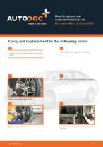 Workshop manual for MERCEDES-BENZ E-Class online