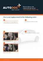 Workshop manual for VW PASSAT online