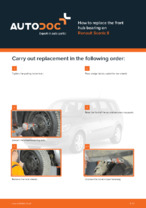 RENAULT manuals free download - informative guide which will help you to fix your car
