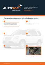 DIY manual on replacing HONDA CR-V Brake Discs