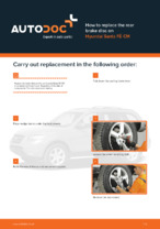 HYUNDAI - repair manual with illustrations