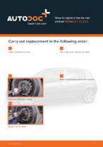 Workshop manual for RENAULT CLIO online