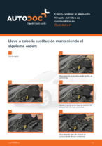 Manual de taller para OPEL ASTRA en línea