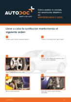 MERCEDES-BENZ - manuale de reparación con ilustraciones