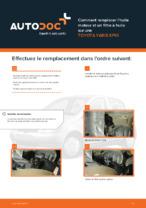 TOYOTA - manuel de réparation avec illustrations