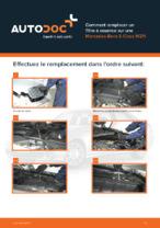 MERCEDES-BENZ manuels d'atelier en PDF