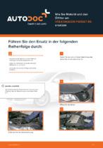 VW-Werkstatthandbuch mit Abbildungen