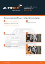 BMW-reparasjonshåndbøker med illustrasjoner