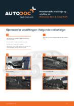 MERCEDES-BENZ-reparasjonshåndbøker med illustrasjoner