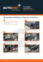 NISSAN-reparasjonshåndbøker med illustrasjoner