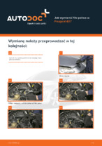 PEUGEOT - napraw instrukcje z ilustracjami