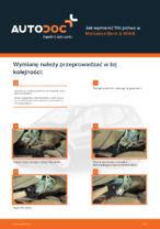 MERCEDES-BENZ - napraw instrukcje z ilustracjami