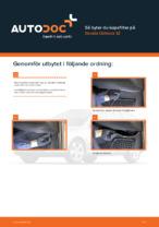 SKODA-handbok för reparationer med illustrationer