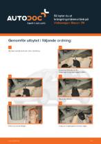 VW-handbok för reparationer med illustrationer