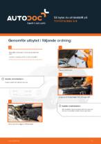 TOYOTA-handbok för reparationer med illustrationer