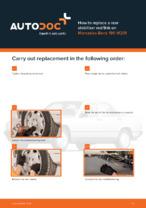 Workshop manual for MERCEDES-BENZ 190 online